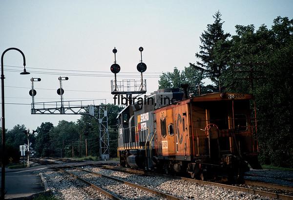 CSX1988080002 - CSX, Cincinnati, OH, 8/1988