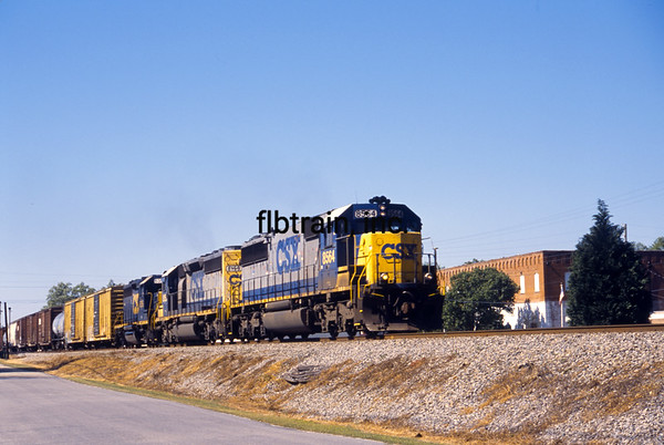 CSX2006040284 - CSX, Latta, SC, 4/2006