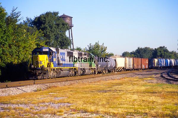 CSX2001090037 - CSX, Dolton, IL, 9/2001