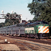 BN1976070019 - Burlington Northern, Brookfield, IL, 7/1976