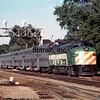 BN1976070019 - Burlington Northern, Brookfield, IL, 7/1976