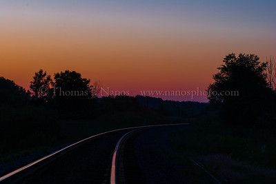 Sunrise in Plymouth - While waiting for a train that wouldn't show up, I shot this sunrise near the Napier Road crossing in Plymouth, MI back in 2006