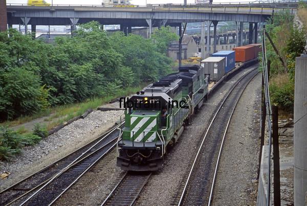 BN1991080012 - Burlington Northern, Kansas City, MO, 8/1991