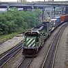 BN1991080012 - Burlington Northern, Kansas City, MO, 8/1991