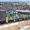BN1991010019 - Burlington Northern, Palmer Lake, CO, 1/1991