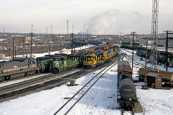 BN1991010032 - Burlington Northern, Denver, CO, 1/1991