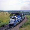 BN1988070093 - Burlington Northern, Palmer Lake, CO, 7/1988