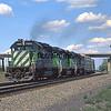 BN1992080003 - Burlington Northern, Walsenberg, CO, 8/1992