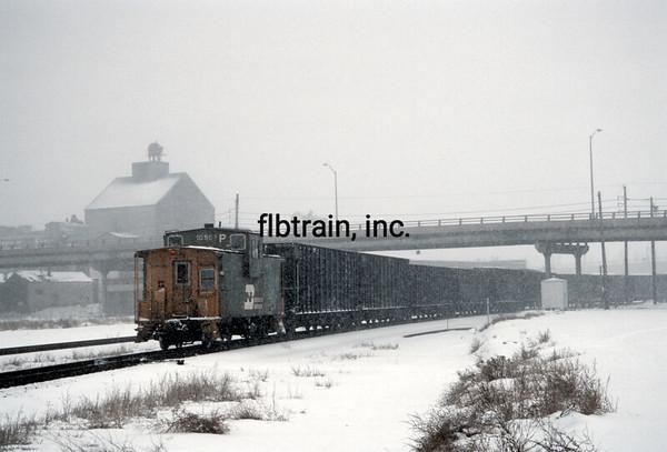 BN1991010618 - Burlington Northern, Denver, CO, 1/1991