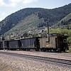 BN1988070072 - Burlington Northern, Palmer Lake, CO, 7/1988