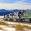 BN1991010012 - Burlington Northern, Palmer Lake, CO, 1/1991