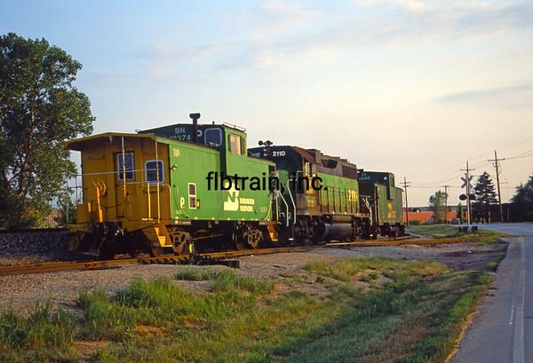BN1991080002 - Burlington Northern, Lenexa, KS, 8/1991
