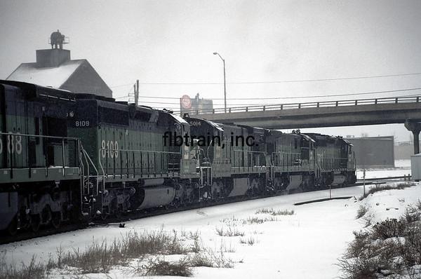BN1991010614 - Burlington Northern, Denver, CO, 1/1991