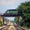 BN1992060028 - Burlington Northern, Galesburg, IL, 6/1992