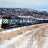 BN1991010007 - Burlington Northern, Palmer Lake, CO, 1/1991