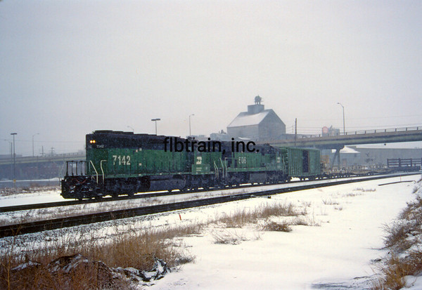 BN1991010309 - Burlington Northern, Denver, CO, 1/1991