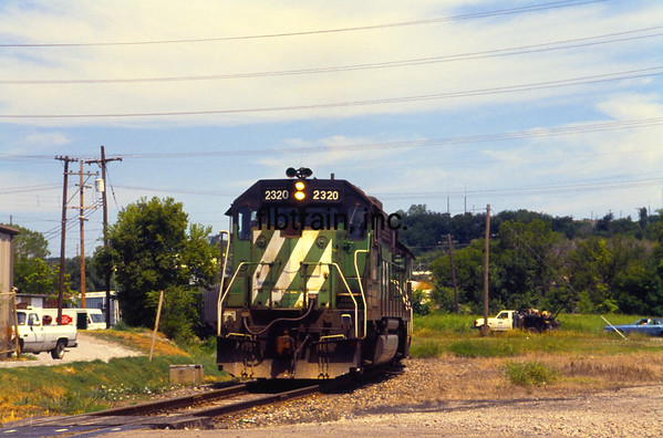 BN1991070009 - Burlington Northern, Sapulpa, OK, 7/1991