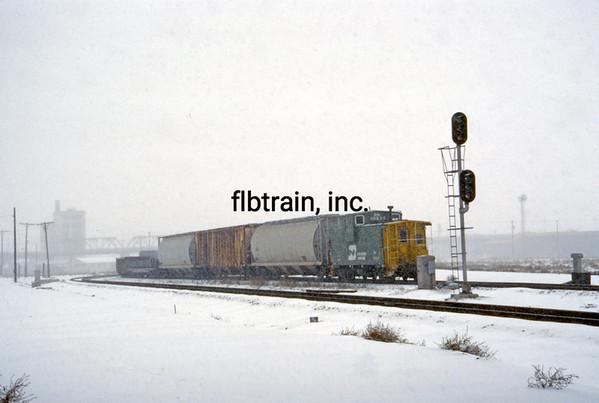 BN1991010313 - Burlington Northern, Denver, CO, 1/1991