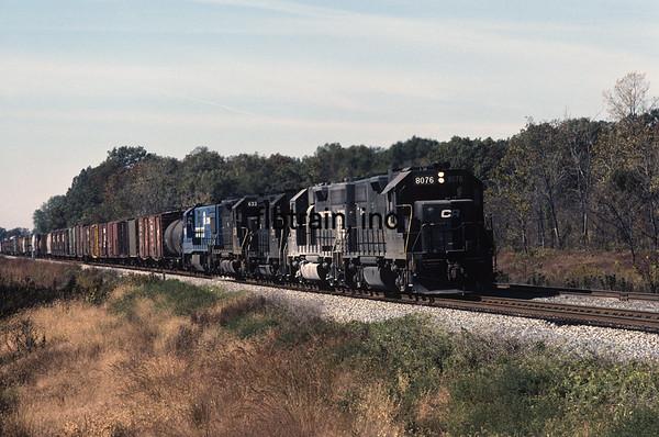 CR1981100007 - ConRail, Indiana, 10/1981
