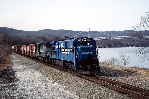 CR1992030024 - ConRail, Bear Mountain, NY, 3/1992