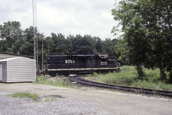 IC1991050005 - Illinois Central, Brookhaven. MS, 5/1991