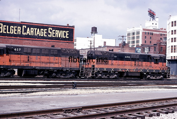 MR1971040135 - Milwaukee Road, Kansas City, MO, 4/1971