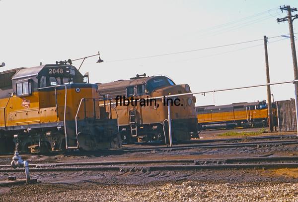 MR1974060125 - Milwaukee Road, Bensenville Yard, IL, 6/1974
