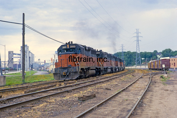 MR1969070141 - Milwaukee Road, St. Paul, MN, 7/1969