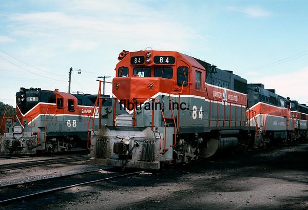 BAR1982090132 - Bangor & Aroostock, Bangor, ME, 9/1982