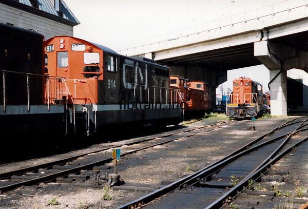 CN1988090006 - CN Narrow Gauge, St, John's Newfoundland, Canada, 9-1988