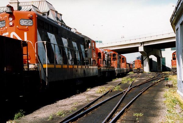 CN1988090003 - CN Narrow Gauge, St, John's Newfoundland, Canada, 9-1988
