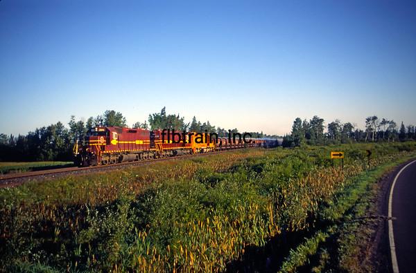 DMIR1995090005 - Duluth, Missabe & Iron Range, Eveleth, MN, 9/1995