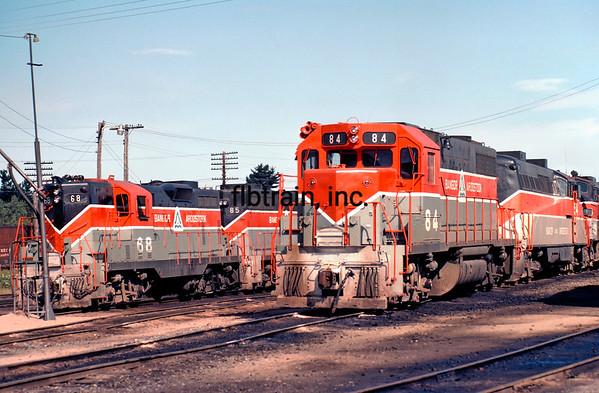 BAR1982090130 - Bangor & Aroostock, Bangor, ME, 9/1982