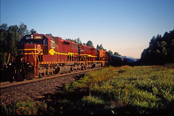 DMIR1995090003 - Duluth, Missabe & Iron Range, Eveleth, MN, 9/1995