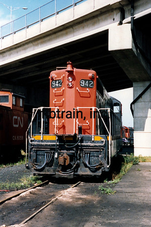 CN1988090004 - CN Narrow Gauge, St, John's Newfoundland, Canada, 9-1988