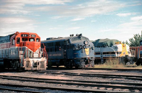 BAR1982090999 - Bangor & Aroostock, Bangor, ME, 9/1982