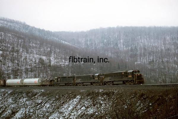 PRR1966041118 - Pennsylvania RR, Horseshoe Curve, PA, 4/1966