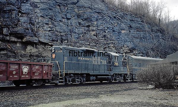 PRR1966040132 - Pennsylvania RR, Horseshoe Curve, PA, 4/1966