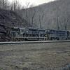 PRR1966040001 - Pennsylvania RR, Horseshoe Curve, PA, 4/1966