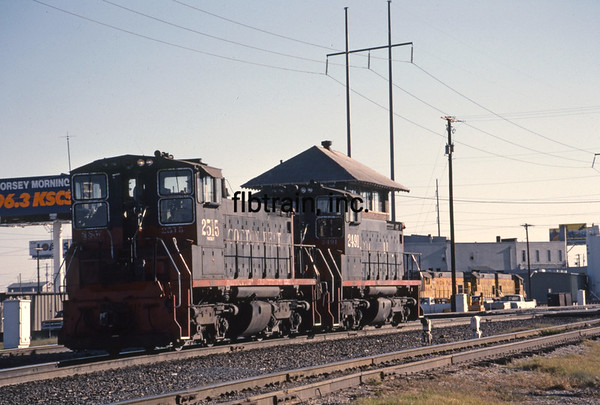 SP1989110018 - Southern Pacific, Fort Worth, TX, 11/1989