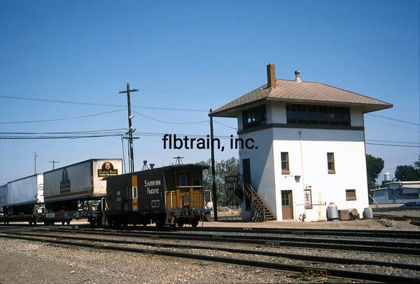 SP1989090088 - Southern Pacific, Stockton, CA, 9/1989