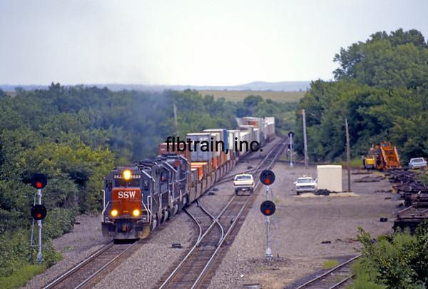 SP1996080020 - Southern Pacific, Alta Vista, KS, 8/1996