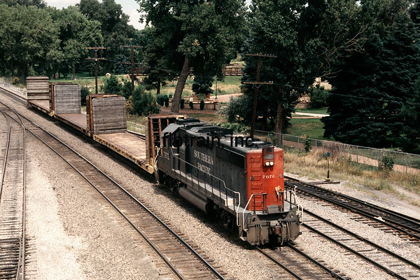 SP1995080036 - Southern Pacific, Colorado Springs CO, 8/1995