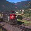 SP1994060012 - Southern Pacific, Palmer Lake, CO, 6/1994
