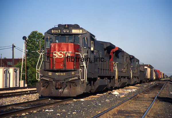 SP1996072010 - Southern Pacific, Lafayette, LA, 7/1996