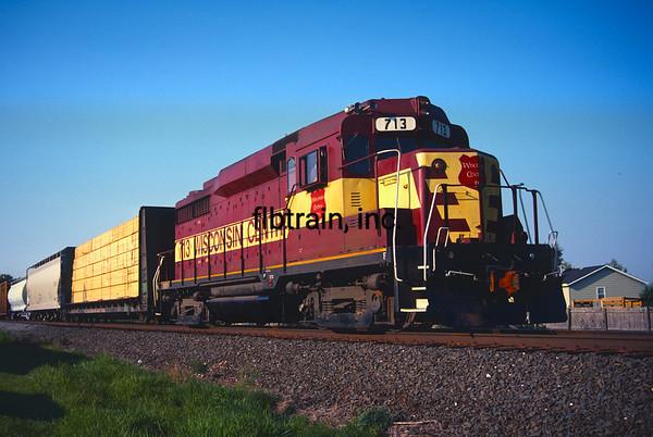 WC1989090014 - Wisconsin Central, Barrington, IL, 9/1989