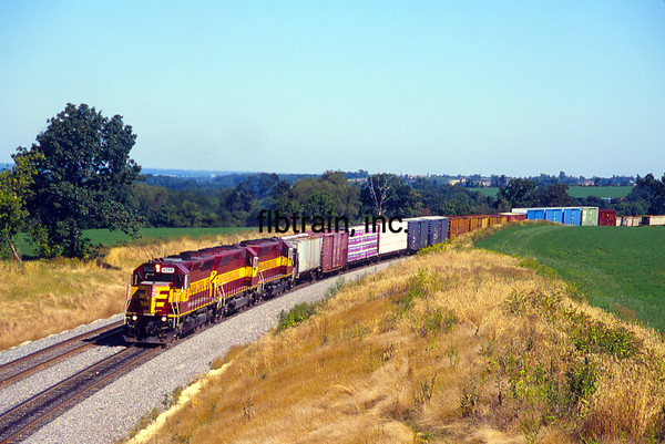 WC2000080200 - Wisconsin Central, Byron Hill, WI, 8/2000