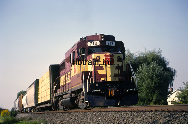 WC1989090018 - Wisconsin Central, Barrington, IL, 9-1989