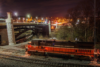 NR-4 at the Frog Bridge in Willimantic