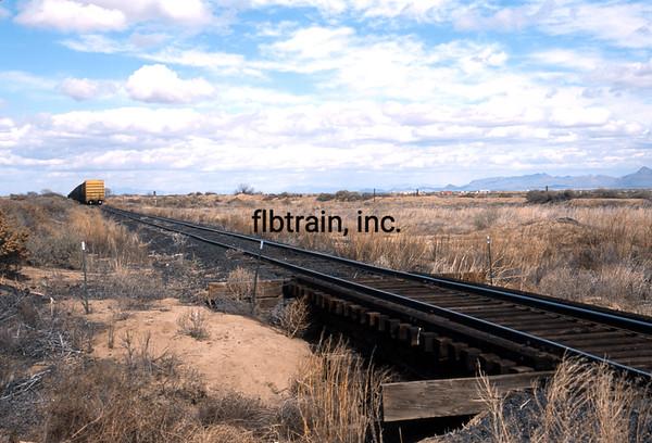 AZER2002020001 - Arizona & Eastern, Bowie, AZ, 2-2002